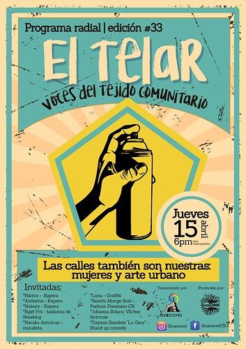 El Telar 33_Mujeres y Arte urbano